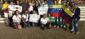 Venezolanos en marcha solidaria
