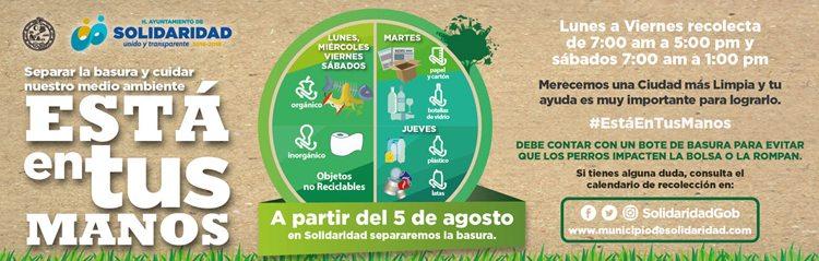 reciclaje solidaridad